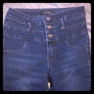 High Waisted Ultra Skinny Jeans